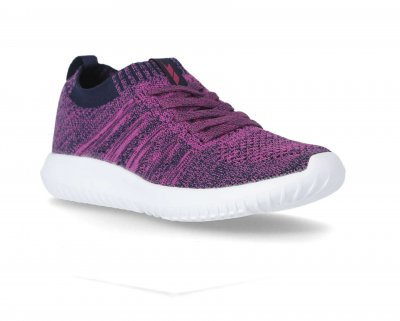 TRESPASS ALEXIS TRAINER FUCHSIA