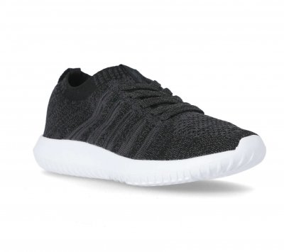 TRESPASS ALEXIS TRAINER CHARCOAL