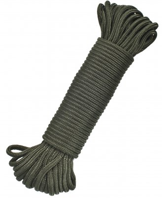 PARACORD OLIVE 3MM X 15 METER 10-PACK