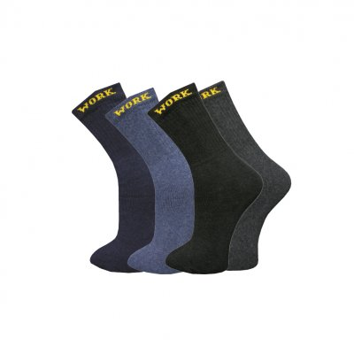 WORKERSOCKS MIX FÄRGER 39-46 PACK